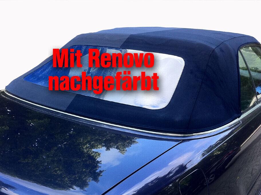 Cabrio Verdeck Farbe dunkel blau Nachfärben von Renovo 500ml. auffrischen Neu