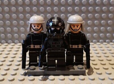Lego Star Wars minifigures - 2 Rare Officers with V-Wing Pilot