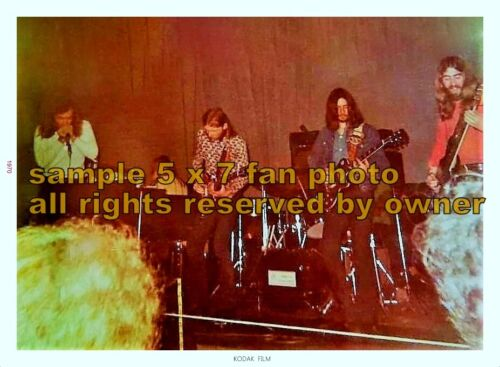 DUANE ALLMAN ALLMAN BROTHERS 5x7 set of 2 ko-dak gold lab photos + gift