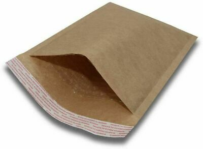 100 2 8.5x12 Kraft Natural Bubble Padded Envelopes Mailers Shipping 8.5x12