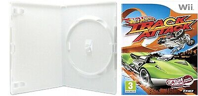 Nintendo Wii Case of Hot Wheels Track Attack (NO GAME) for sale  Shipping to Nigeria