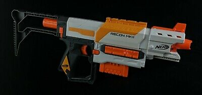 Nerf N-Strike Modulus Recon MKII - Stock, Barrel, 6 Dart Clip Complete TESTED