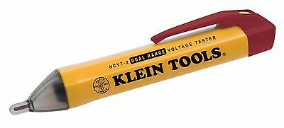New Klein Tools Ncvt-2 Dual Range Non-contact Electrical Voltage Tester Usa