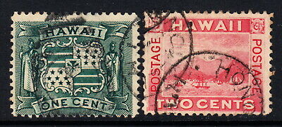 1899 Hawaii #0-81 used lot H