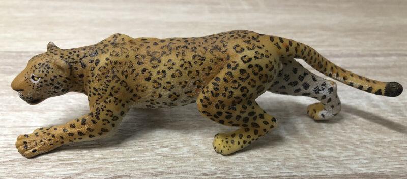 "2008 PAPO ANIMAL KINGDOM 5"" SPOTTED LEPOARD JAGUAR JUNGLE CAT FIGURE #804"
