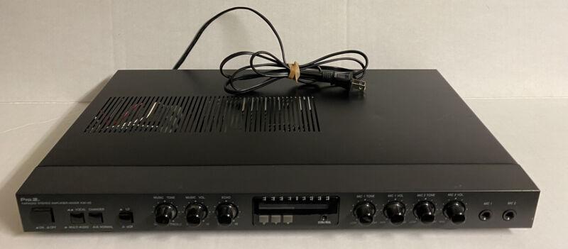 Pro.2 Karaoke Stereo  Amplifier/ Mixer Km-46