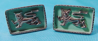 VINTAGE CUFFLINKS FOO DOG on Rummage