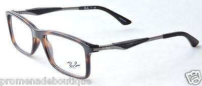 RAY BAN 7023 EYEGLASSES LIFESTYLE RX7023 EYE GLASSES OPTICAL FRAME 2012 HAVANA
