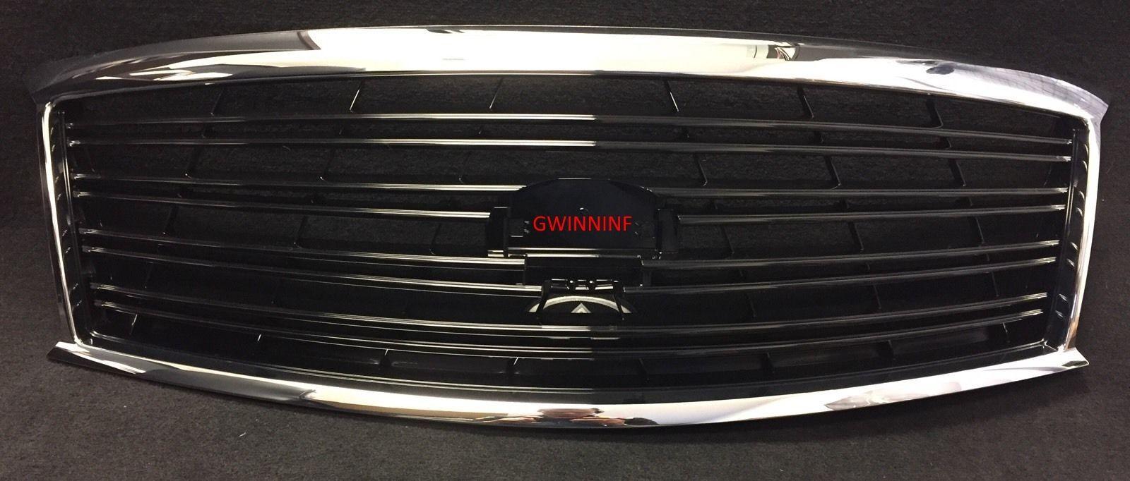 2011-13 M37/M56, 2014 Q70 OEM Infiniti Midnight Black Grille F2310-1MA00
