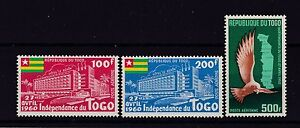 TOGO Poste Aerienne N° 34/36 Neuf ** - France - TOGO Poste Aerienne N 34/36 Neuf . Neuf sans charniere. TB. Vous pouvez cumuler avec d'autres achats, vous ne payez qu'une seule fois les frais de port. You can combine shipping with other purchases. For ASIA and RUSSIA registered mail is require - France