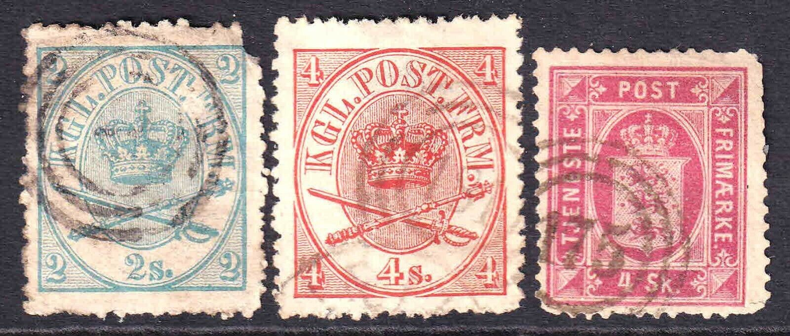DENMARK EARLY ISSUES INCLUDING O2 40 COLLECTION LOT - $4.99
