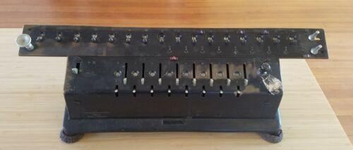 Large Antique Ludwig Spitz Calculator ms