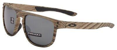 Oakley Holbrook R Sunglasses OO9377-1255 Walnut | Prizm Black Lens | BNIB