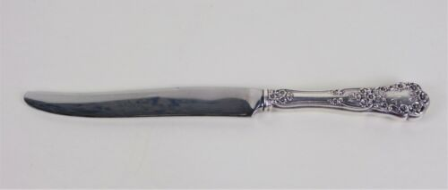 Sterling Silver Gorham Buttercup French Knife Flatware Monogram M Patent 1900