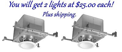 Halo Sloped Ceiling Recessed Light Kits Halo H645456wkit Can Lights. U Get 2