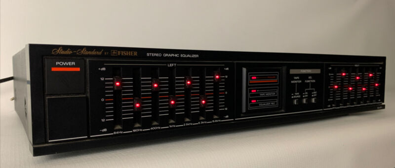 Fisher Studio-Standard Stereo Graphic Equalizer EQ-871 Tested