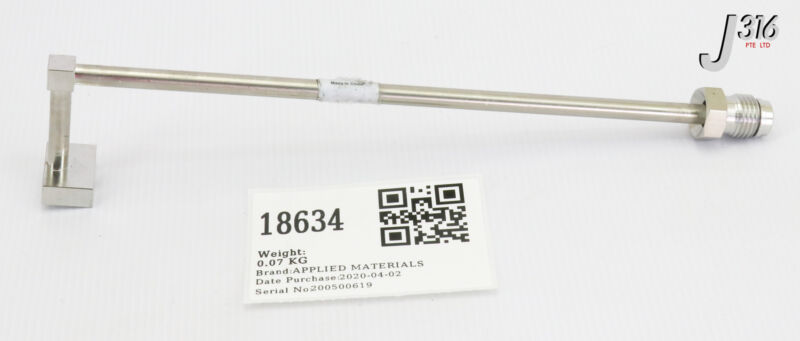 18634 Applied Materials Gasline (new In Open Pack) 0051-17953