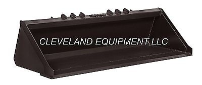 78 Xhd Low Profile Bucket Cat Skid Steer Track Loader Attachment Severe-duty Nr