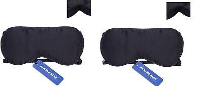 ALASKA BEAR Natural silk sleep mask & blindfold super-smooth