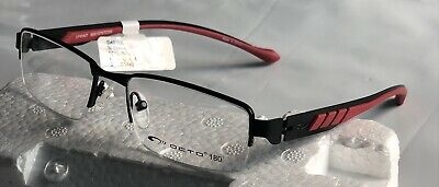 Octo 180 D49 49 SprinT 51-17-140 Black/red frames Men's Eyeglasses (Octo Glasses)