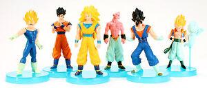 Dragonball Z Dragon Ball Action Figures  Goku Buu Anime Manga 6 Figure Set New