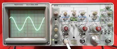 Tektronix 2235 Anusm-488 100 Mhz Oscilloscope Snb076192