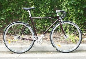 Free Delivery | Merlot 54cm CrMo Single Speed Bike ** NEW ** Norwood Norwood Area Preview