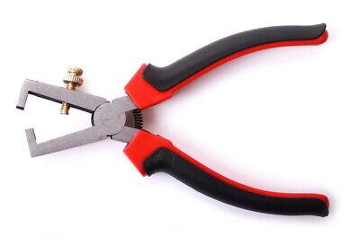 Abisolierzange bis 4 mm² robust Einstellschraube abisolieren gefedert 0,05 mm