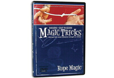 Amazing Easy to Learn Magic Tricks DVD: Rope Magic Dvd Amazing Magic Tricks
