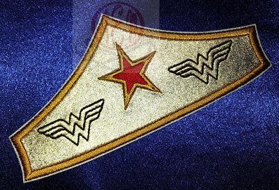 Wonder Woman Gold Tiara Patch 6 inches](Wonder Woman Tiara)