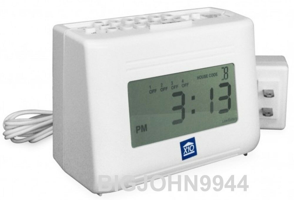X10 MT14A 64-Event LCD Mini Timer with new LCD display