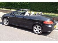 PEUGEOT 307CC (Electric Hardtop Convertible) White Leather Interior, Drives & Looks Great, Bargain!!