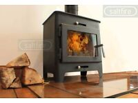 Saltfire ST1 5kW DEFRA Approved Wood Burning Stove