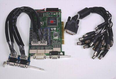 Video Insight Digital Video Recorder VJ120 PCI-X Card w/ Expansion Kit & Dongle