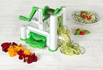 3in1 Spiralschneider Gemüseschneider Spiral Slicer Spaghetti-Schneider Julietti Slicer