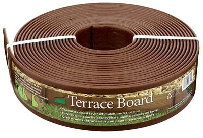 Master Mark Plastics 93340 Terrace Board  Landscape Edging Coil  3""