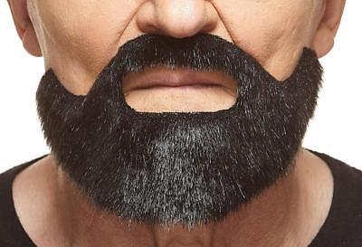 Mustaches Self Adhesive, Novelty, Fake, Short Boxed Beard - Fake Short Beard