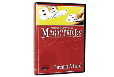 Amazing Easy to Learn Magic Tricks DVD: Forcing a Card Dvd Amazing Magic Tricks