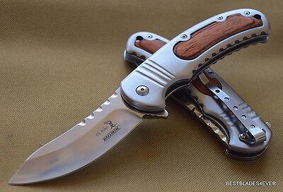 Elk Ridge Spring Assisted Knife   Razor Sharp   Blade With Pocket Clip