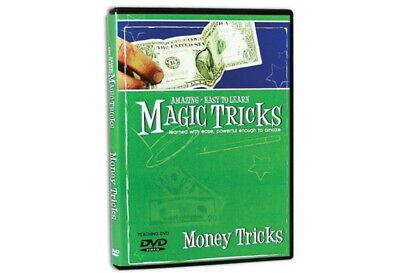 Amazing Easy to Learn Magic Tricks DVD: Money Tricks Dvd Amazing Magic Tricks