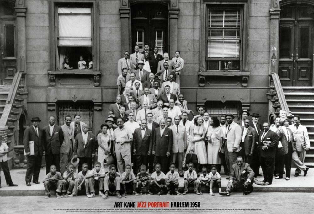 Jazz Portrait A Great Day In Harlem 1958 By Art Kane Beautiful Poster 35x24 - $24.99