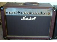 Marshall acoustic 50 watt amplifier AS50R very good condition