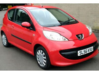 PEUGEOT 107 URBAN 1.0 - £20/12MTHS TAX aygo c1 yaris i10