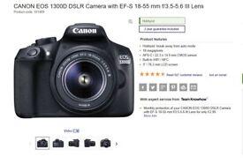 Canon EOS 1300D + Sandisk SDK EP 16 GB SD