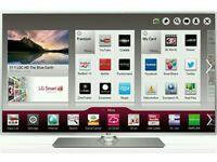 "LG 47"" LED tv smart Wi-Fi built in HD freeview USB media player full hd 1080p."