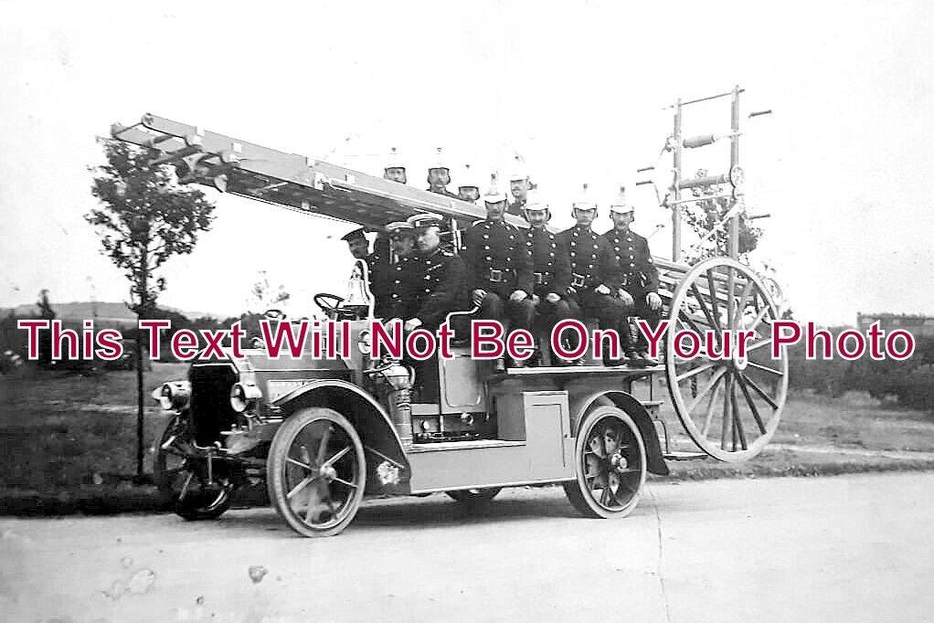 DO 1061 - Kings Park Fire Engine, Bournemouth, Dorset 1914