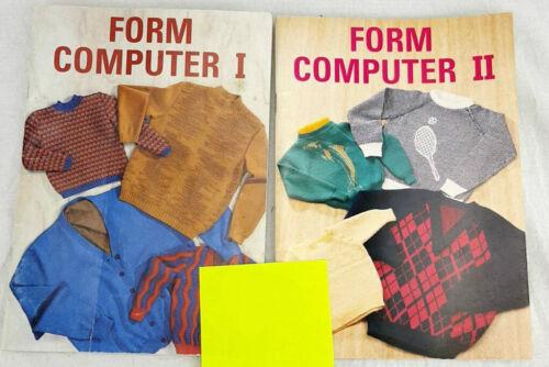 Passap Form Computer I and II Patterns