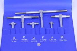 6 PC SUPER PRECISION TELESCOPING GAGE SET 5/16