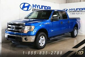 Ford F-150 2014 + XLT + 4x4 + CREW CAB + CRUISE + MARCHE-PIEDS +