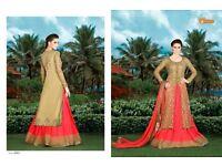 Snow White-3 4910C Indo Western Wedding Wear Salwar Kamiz
